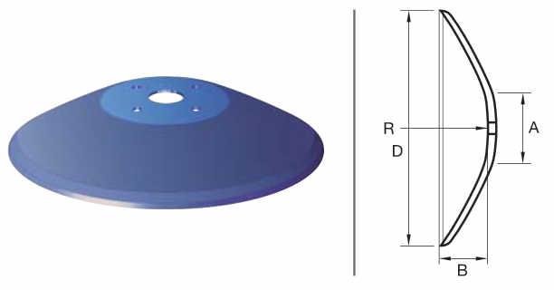 Конични дискове Белота