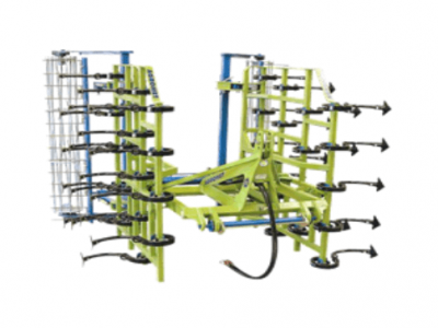vibro-cultivator vertical folding in 2 parts 3 beams